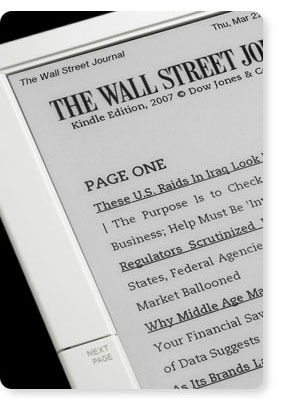 Wall Street Journal on the Kindle
