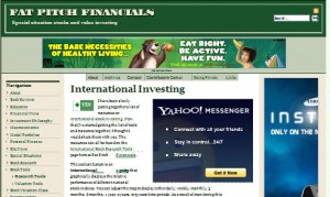 Old Fat Pitch Financials design