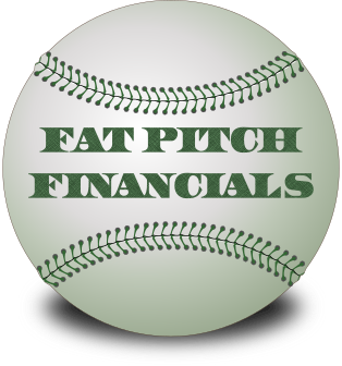 Fat Pitch Financials baseball logo