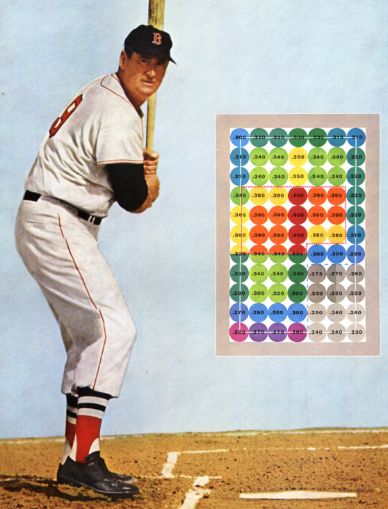 Ted Williams Strike Zone Chart