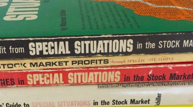 Maurece Schiller's special situation books