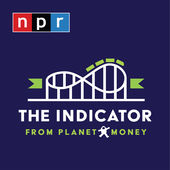 Logo of The Indicator podcast from Planet Money