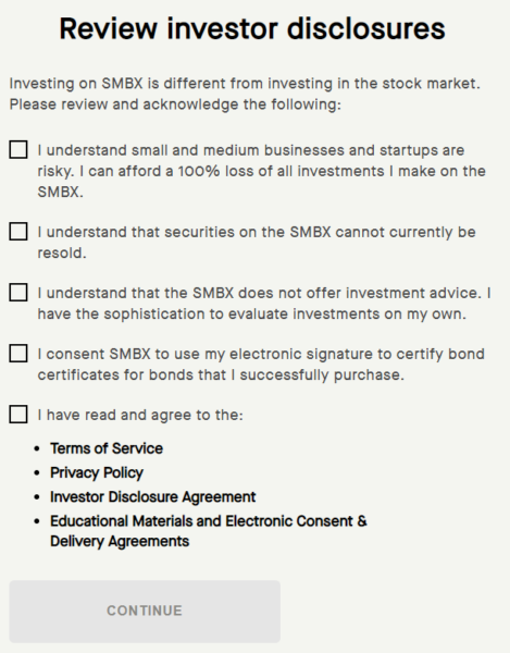 SMBX disclosures